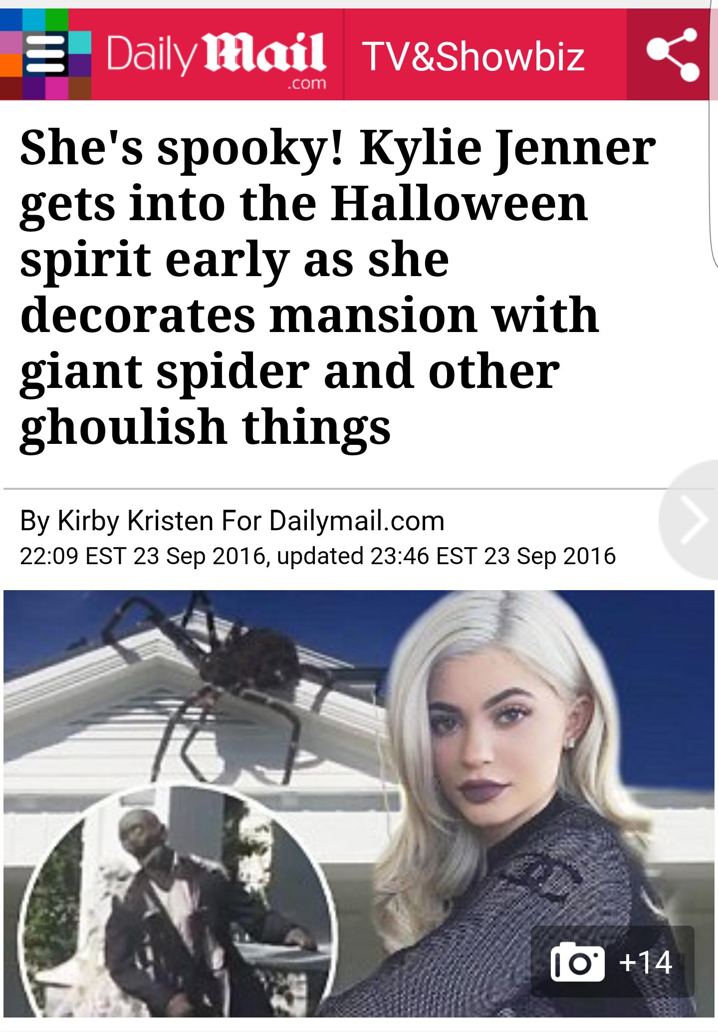 Kylie Halloween Press